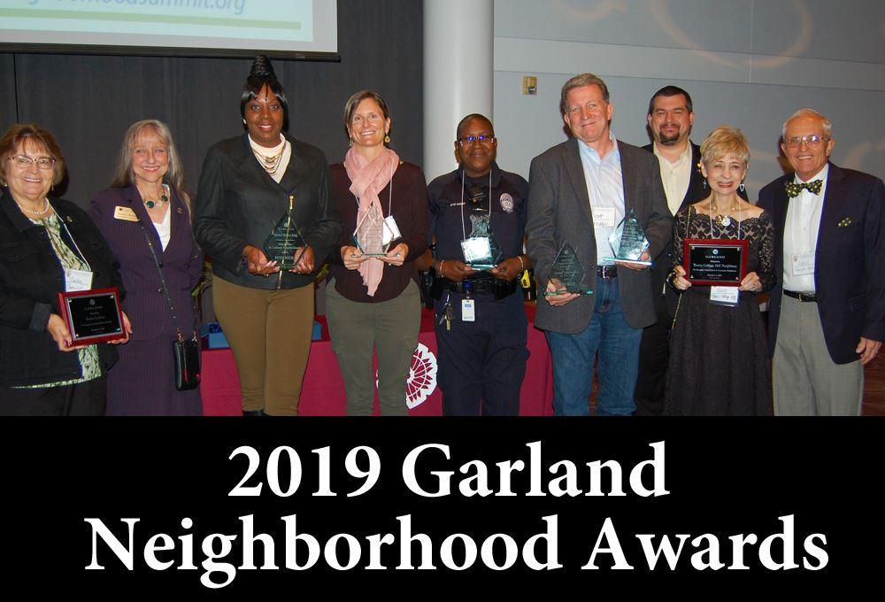 2019 garland neighborhood awards